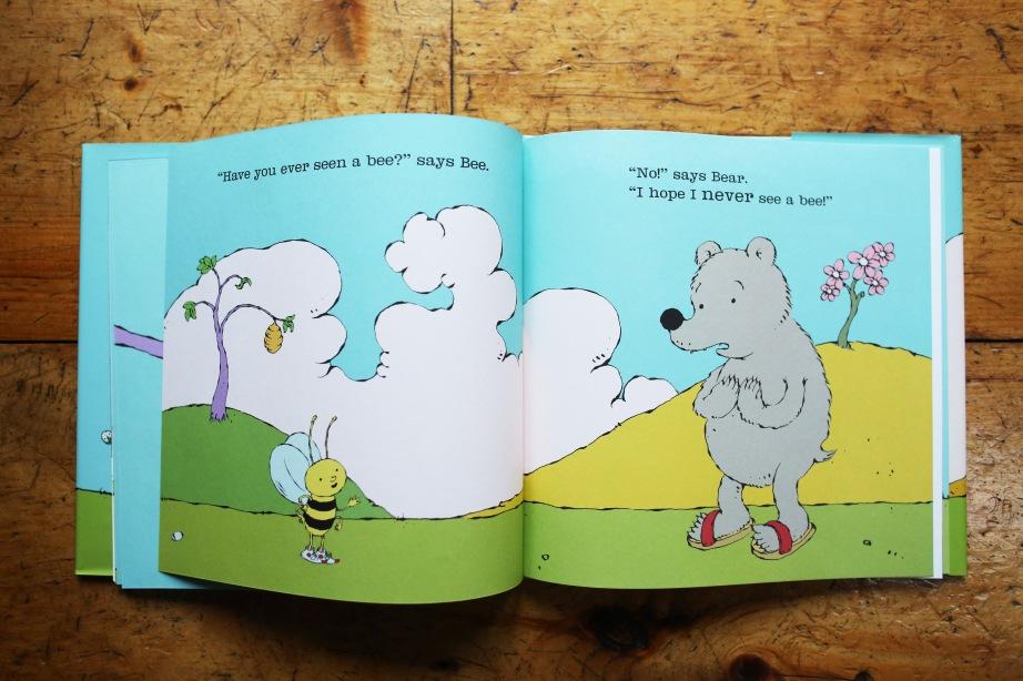 Bear and Bee - Inside